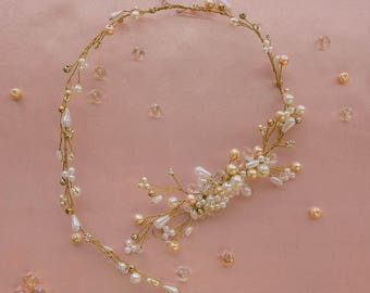 Crown and gold - Jane appliqué