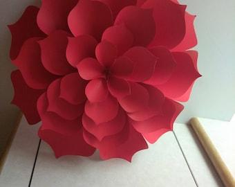Paper flowers decorations #1