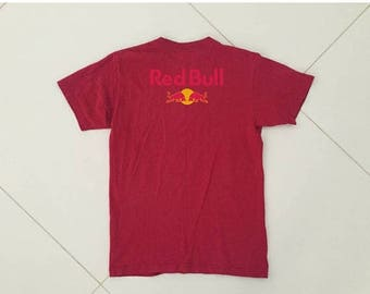 LAST DAY 35% OFF Red bull fox racing T shirt Red Size M