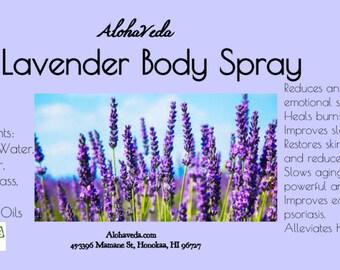 Lavender Body/ Face Spray