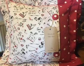 Thelwell style cushion
