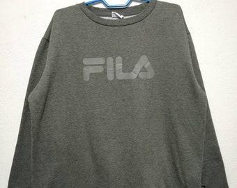 Vintage Fila Big Logo Sweater Sweatshirt