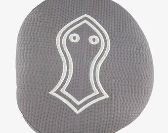Grey Sandala Turban Cap