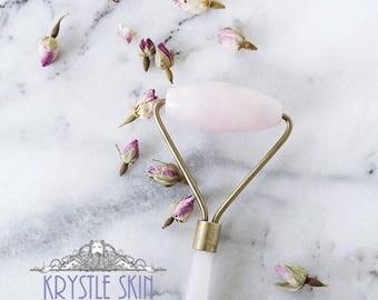Rose Quartz Facial Roller