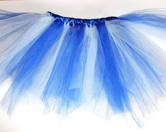 Custom Tutu With Satin Ribbon Waist