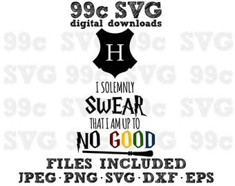 Harry Potter Quote Word Art SVG DXF Png Vector Cut File Cricut Design Silhouette Cameo Vinyl Decal Party Stencil Template Heat Transfer Iron