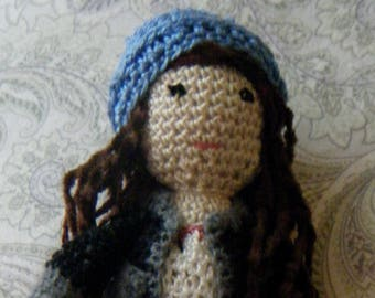 Persi crocheted doll