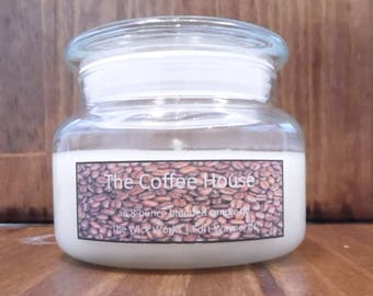 Soy Candle, Coffee Candle,