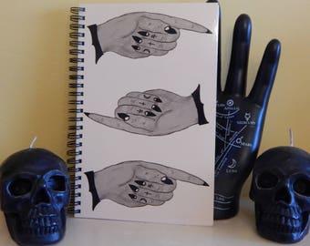 Barbastella Unique Art Notebook