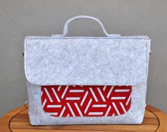 Laptop bag, LAPTOP BACKPACK, Felt laptop sleeve, Messenger bag, Shoulder bag, Crossbody bag, Macbook pro 15, Laptop bag 15 inch, Laptop case