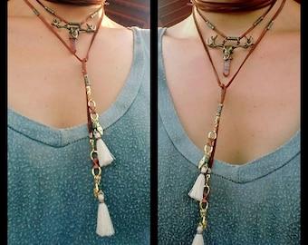 Beatnik Being- Choker Wrap Necklace
