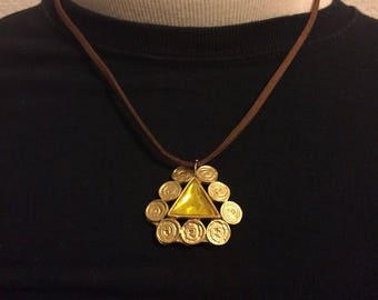 One of a Kind Triangle necklace