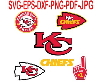 Kansas City Chiefs.Svg,eps,dxf,png,png,jpg.