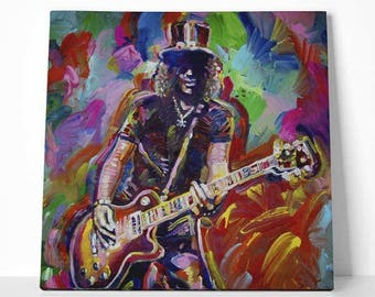 """Canvas """"Slash"""" by Howie Green"""