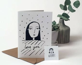 Gift card - Love you