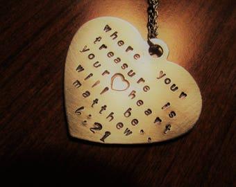 Treasure Heart Necklace