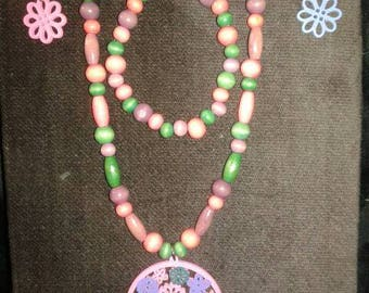 FLOWER POWER Necklace, Bracelet & Earring Set