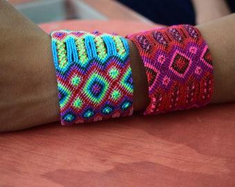 Mexican Woven Bracelets / Bracelets / Colorful Bracelets / Mexican party