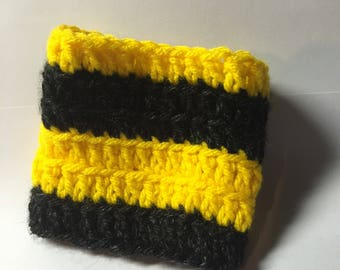 Black and Yellow Striped GreenSleeve