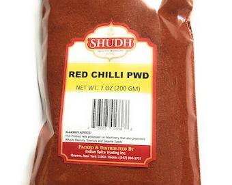 Red Chilli Powder 7oz (200GM) free shipping