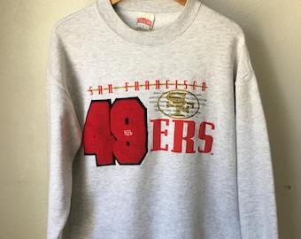 Vintage San Francisco 49ers Nutmeg sweatshirt medium