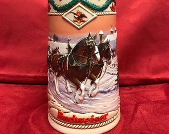Budweiser Beer Stein 1996