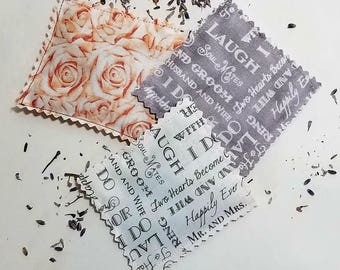 I Do Wedding Lavender Sachets- Set of 3