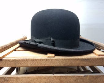 Early 20th Century Felted Wool  Bowler / Derby Hat