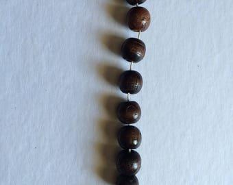 Percy Jackson/Heros of Olympus Inspired Wooden bead Necklace (Medium bead)