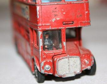 Vintage London Bus Toy / Vintage Dinky Routemaster Bus #289 / Wanderlust