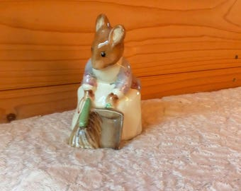 Beatrix Potter's 'Hunca Munca Sweeping'