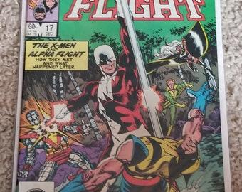 Wolverine Alpha flight comic vf/m