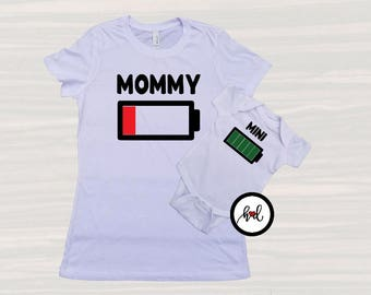Mommy Mini Shirt, Mommy Son Shirt, Mommy And Me Outfits, Mommy And Me Tops, Matching TShirt Set, Momma T Shirt, Mommy And Me Shirts