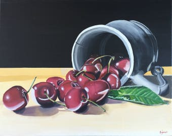 Cherries - a still life