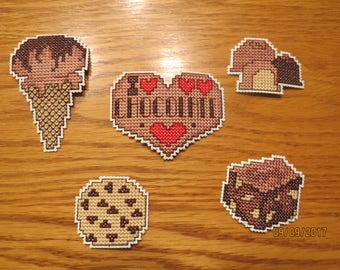 Chocolate Themed Magnets