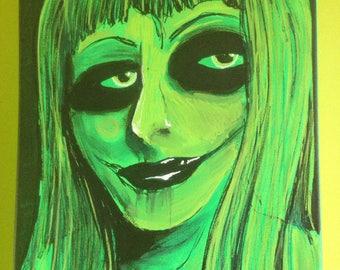 Goth girl Mary Jane