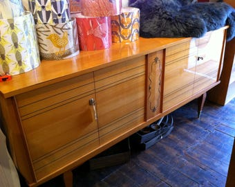 large french mid century sideboard (shipping varies)