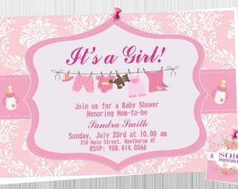 Baby Shower- It's a Girl!