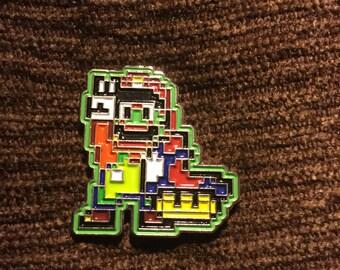 Super mario bros digital hat pin V2