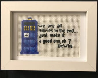 Dr. Who Quote