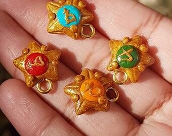 Sailor Scout Chokers, Sailor Moon, Choker, Sailor Moon Charms, Choker Charms, Polymer Clay Charms, Clay Charms