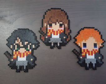 Harry Potter Perler Bead Sprites
