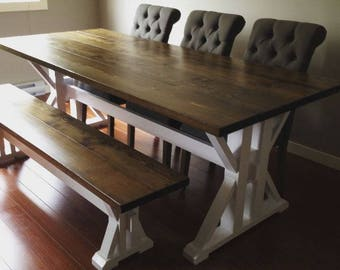 Custom Harvest Table- 8ft