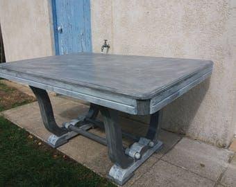 rectangular table shabby chic style