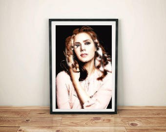 Amy Adams posters, Amy Adams, Amy Adams art, Home Decor, Wall art, Amy Adams gift, Movie Poster, Amy Adams print, picture poster