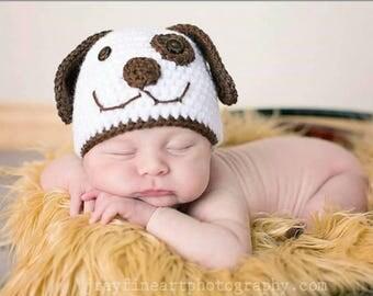 Newborn baby photo prop, puppy photo prop