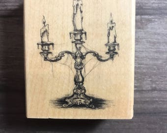 Sconce Small Wooden Block Stamp