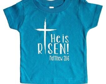 He is Risen Shirt / Christian Shirt / Faith Shirt / Easter Shirt