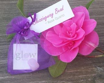 Blessingway Bead ~ Rose Quartz
