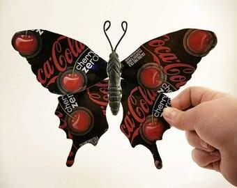 Cherry Coke Zero Butterfly